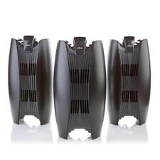 Hunter Hepa Air Purifier Tower 3-pack with Long-Life Filter Color Black