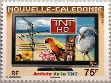 New Caledonia Nueva Caledonia 2011 1552 introducción digital Terr. televisión tv mnh