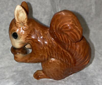 "Rare 3"" Goebel Squirrel Figurine With Acorn Vintage Figure"