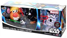 Mr Potato Head Kohls Star Wars Luke Frywalker Darth Tater Spudtrooper Set!