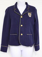 0fd0be303c Polo Ralph Lauren Jacket Sports Coat Girls French Navy 3 Button Long Sleeve  XL