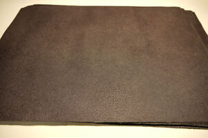 """Large Stingray Embossed leather panels 4 pieces Purple 18"""" x 24"""" first Quality"""