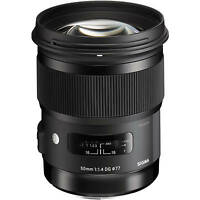 Sigma 50mm F1.4 DG HSM A Art Series Lens in Canon EOS fit (UK Stock) BNIB