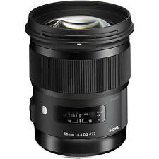 Sigma 50mm F/1.4 DG HSM Art Lens for Sony a Ship From EU