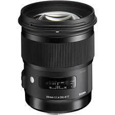 Sigma 50mm F1.4 DG HSM A Art Series Lens in Nikon AF fit (UK Stock) BNIB
