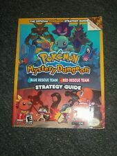 Nintendo GBA Pokemon Mystery Dungeon Blue Red Rescue Team Strategy Guide