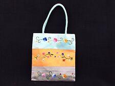 Floral Embroidered Small Vietnamese Silk Handbag
