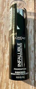 Loreal Infallible Longwear Shaping Stick  Foundation SPF 27 ~ 408 Tan ~