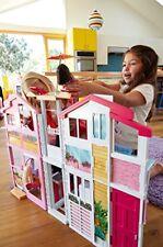 Mattel Barbie 3 Etagen Stadthaus Puppenhaus Spielspaß Kinder Spielzeug NEU