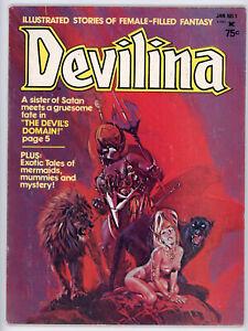 DEVILINA #1 (Atlas/Seaboard 1975) FN condition NO RES!