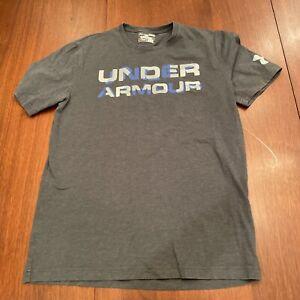 Mens Under Armour Loose Grey Shirt Small