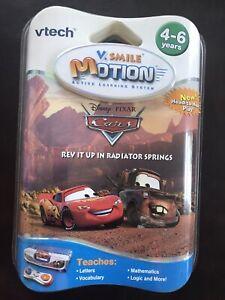 Vtech V.Smile Motion Cars Rev It Up in Radiator Springs Letters, Vocab, Math New