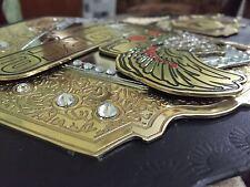 MMA UFC Rare Hand Made strikeforce championship replica belt size 51 Length