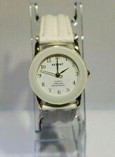 """Damen Uhr, """" AKZENT """", 3 ATM, Gold/Weiß, sehr EDEL, NEU !!!"""