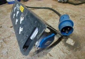32 Amp 240v To 13 Amp Socket Distribution Board, Site, Event Management...