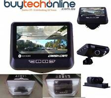 "NAVIG8R NAVCAM-FHD360 Car Crashcam Front/Rear Cam Full HD 3.5"" LCD Screen"