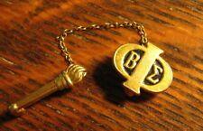 Beta Sigma Phi Lapel Pin - Vintage ΒΣΦ Sorority Club Torch Sisters Member Badge