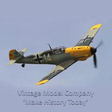 Vintage Model Co. Balsa Laser Cut Kit Messerschmitt Bf-109 Free Flight Aircraft