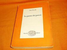 nuto revelli la guerra dei poveri einaudi editori 1962 2a edizione