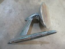 1955 Ford Fairlane exterior driver side door mirror base chrome rat rod parts