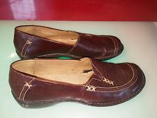 clarks artizan brown womens shoes size 6.5 good shape