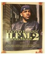 Lloyd Banks Poster The Hunger From Re G-Unit