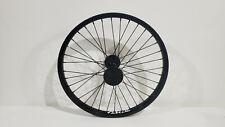 "*NEW* Verde Regent BMX Front Wheel Rim 3/8"" Double Wall Black *NEW*"