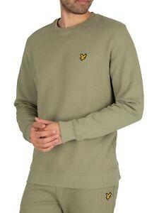 Lyle & Scott Men's Crew Sweatshirt, Green