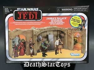 Star Wars ROTJ Vintage Collection TVC Jabbas Palace Han Solo Ree Yees Walmart Ex