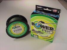 Power Pro Braided Spectra Line 100 lb x 500 yd  Moss Green  (We ship worldwide!)