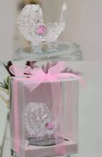 6-Baby Shower Carriage Favors Pink Gender Reveal Recuerdos Giveaway It's A Girl
