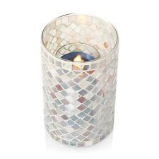 Yankee Candle Harmony Sea Lights Mosiac Large Jar Candle Holder Fairy Garden Nib