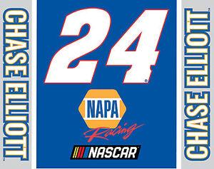 """NASCAR #24 Chase Elliot CAR MAGNET-NASCAR MAGNET-5""""X 6"""""""