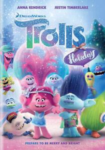 Trolls Holiday New DVD