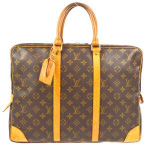 LOUIS VUITTON PORTE DOCUMENTS VOYAGE HAND BAG MONOGRAM M53361 TH0996 71940