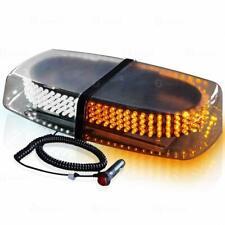Mini Light Bar 240 LED Emergency Vehicle Warning Top Strobe Amber/White 7 Modes