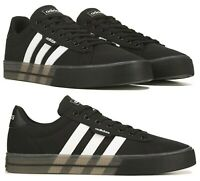 New adidas Men's Casual Lace Up Athletic Sneaker Shoes black white all sizes