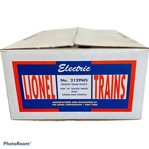 Lionel Trains Berkshire Freight Set No.2129WS Freight Train Outfit Empty Box