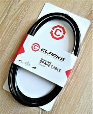 Clark/'s MTB Bremszug//Außenhüllen-Set beschichtet 2m Endkappe inkl hinten