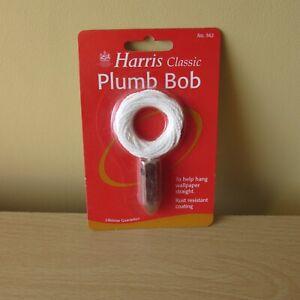 Harris Classic Plumb Bob - Unused - sealed in packaging