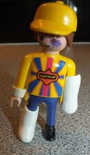 Playmobil FIGURE Sprint Man With Blue Eye and Casts 3845 Air Rescue