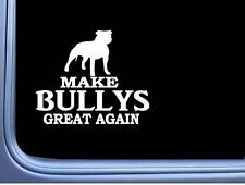 "American Bully Maga Uncropped L707 Dog Sticker 7"" decal"