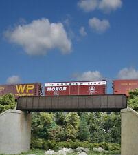 Walthers Cornerstone HO Scale 70ft. Single-Track Railroad Through Girder Bridge