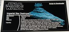 Star Wars Sticker for Lego® MOC-9018 ISD Doomhandle precut custom (nicht 10030)