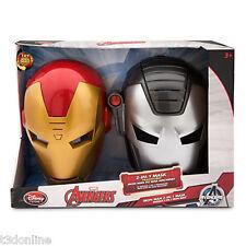 Marvel Iron Man 2-in-1 War Machine Mask Set with Sound Super Hero Toy Talking