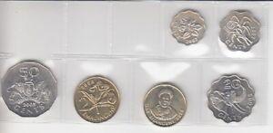 Swaziland KMS Loose - 6 Monnaie Pas en Circulation