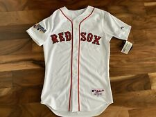 DAVID ORTIZ BOSTON RED SOX MAJESTIC AUTHENTIC 2007 WORLD SERIES MLB JERSEY