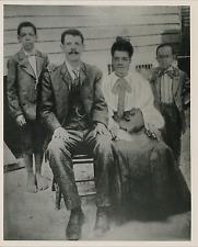 Damon Lee et sa famille, ancien esclave Vintage silver print, tirage postérieur
