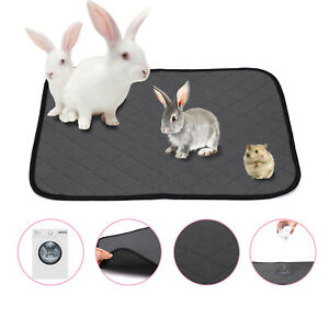 Guinea Pig Reusable Pet Pee Pads Cage Liner Cage Bedding Absorbent Cage Mat