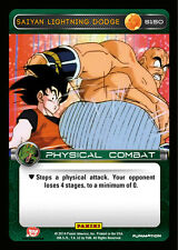 DBZ 2x  Saiyan Lightning Dodge - Foil Near Mint Dragon Ball Z Premier Starter De